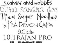 Fonts & Printing