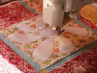 Free motion quilting...