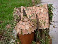 Fairy Houses and Birdhouses for the Garden