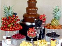 67 Ideas De Cascada De Chocolate Fuentes De Chocolate Mesas De Frutas Mesa De Dulces