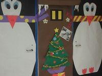 East Lake Door Decorating Contest on Pinterest