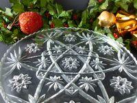 Star Of David Cut Glass