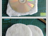 Recycled CD Crafts