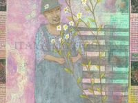 Gelli printing ideas and gallery
