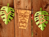 At the end of the school year we host a Luau Party for the kids, I'm always looking for ways to have more fun with it.