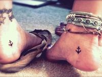 Ideas for when I decide to get a tattoo or piercing.