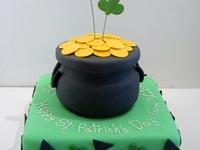 167 Best St Patricks Day Cakes Images On Pinterest