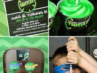 Teenage Mutant Ninja Turtle Party(5th Birthday)