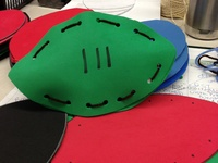 1000 images about football preschool theme on pinterest for Football crafts for preschoolers