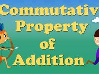 ... Associative property, Properties of addition and Commutative property