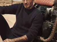 Beckham / Ex-footballer for ManU.... Model ... what more do u need??