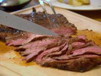 Meat on Pinterest | Beef Fajitas, Flank Steak and Grape Jelly