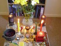 Altar ideas/Altar room/Meditation room