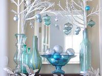 Natal azul turquesa