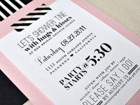 Letterpress Cards Invites