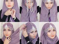 how  to tie a hidjab, Как завязывать хиджаб