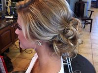 Hair up does for wedding