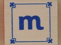 """M"" and monograms"