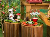 Woodland themed party / Enchanted forest decoration ideas and KPC products