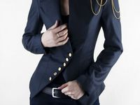 Attire suited for the office-bound career woman.