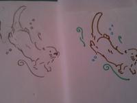 Otter Tattoos