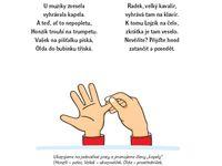 cvičení s říkankami