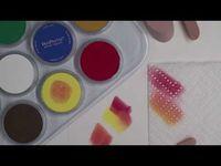 art technique: pan pastels