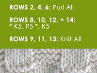 modele pentru tricotat