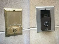 Intercom Speaker Doorbell Wall Plates Nutone Tektone M S With Images Plates On Wall Doorbell Switch Plates