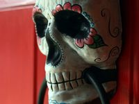Inspirations of Dia de los Muertos also known as Day of the Day.