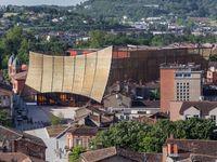 Photo: grand théâtre des Cordeliers à Albi / Mes photographies du théâtre d'Albi, réalisé par Dominique Perrault Architecture.