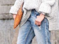 Knit inspiration / Knitwear woman inspiration photoes