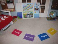 Preschool at home for Evan