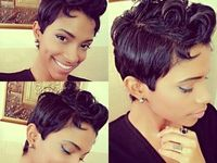 Short cut hairstyles for ethnic women