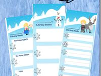 winter wonderland printables