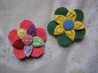 fuxico flowers