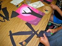 upper grade art projects