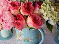 Romantic Flowers and Gardens
