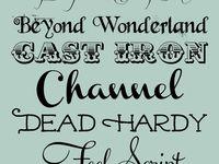 Lettering & Fonts