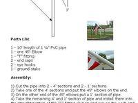 pvc flagpole plans