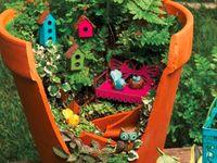 Decorations - Flower/pot design