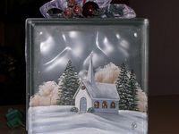 painted glass boxes