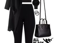 Black Pants Outfits