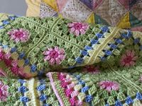 Crochet: Granny Squares: Ways to Put Together on Pinterest   Granny