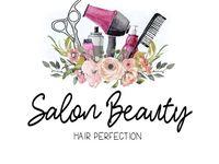 Logo Personnalise Premade Salon Beauty Logo Premade Logo Boho Hair Stylist Logo De Beauty Logo Salon Interieur De Salon De Coiffure Dessin Coiffure