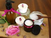 natural bath products an skin care