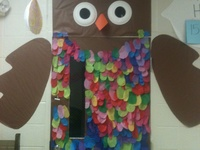 Creative Ideas for bulletin boards and doors