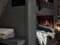 Cabin chic interior