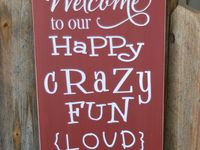Ideas to decorate sign and plaques with vinyl