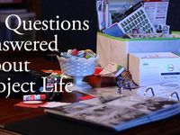 Project Life Ideas & Tips